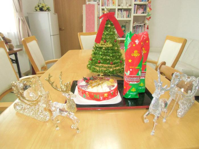 2017.12.24 クリスマスケーキ(2F) (3)