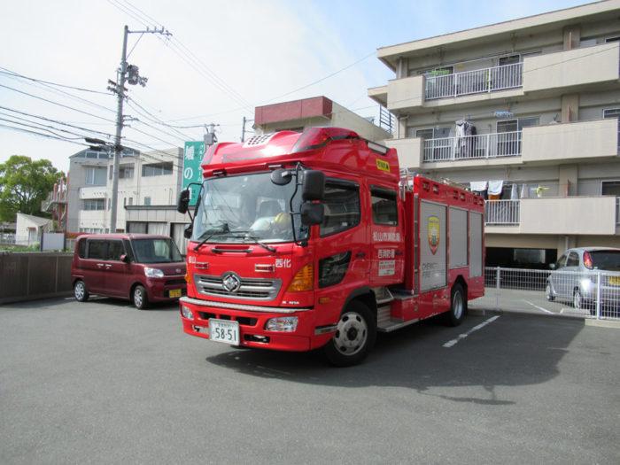 2018.4.12 火災避難訓練(消防署立会い) (2)