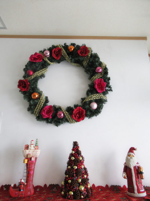 2018.12.4 クリスマス飾り 1
